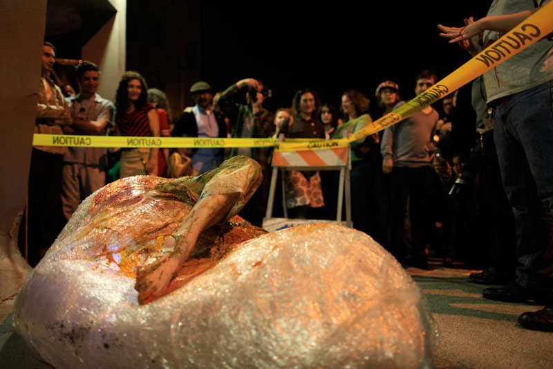 David le Viseur_Cocoon_Performance_2009
